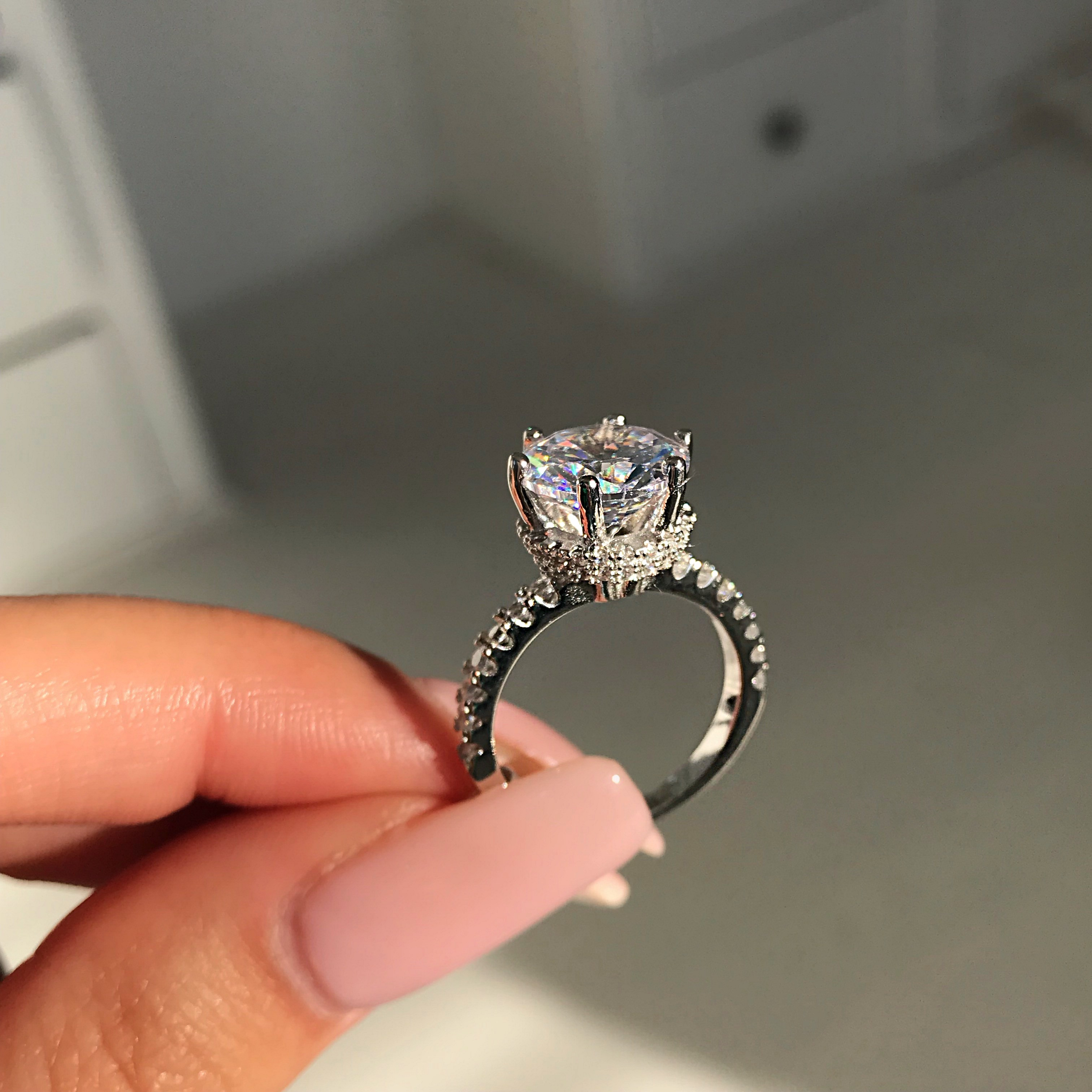 Soignee Sterling Silver Ring Phantom Jewels