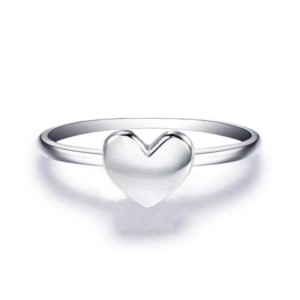 heart locket ring