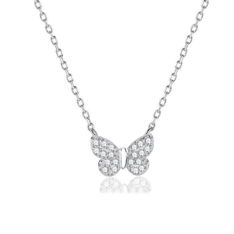 butterfly obsession necklace