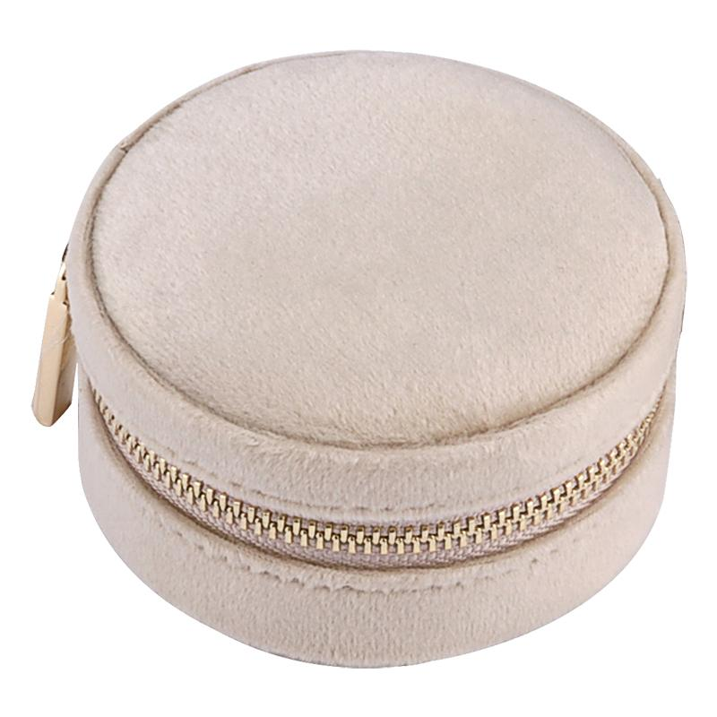 mini suede velvet jewellery box